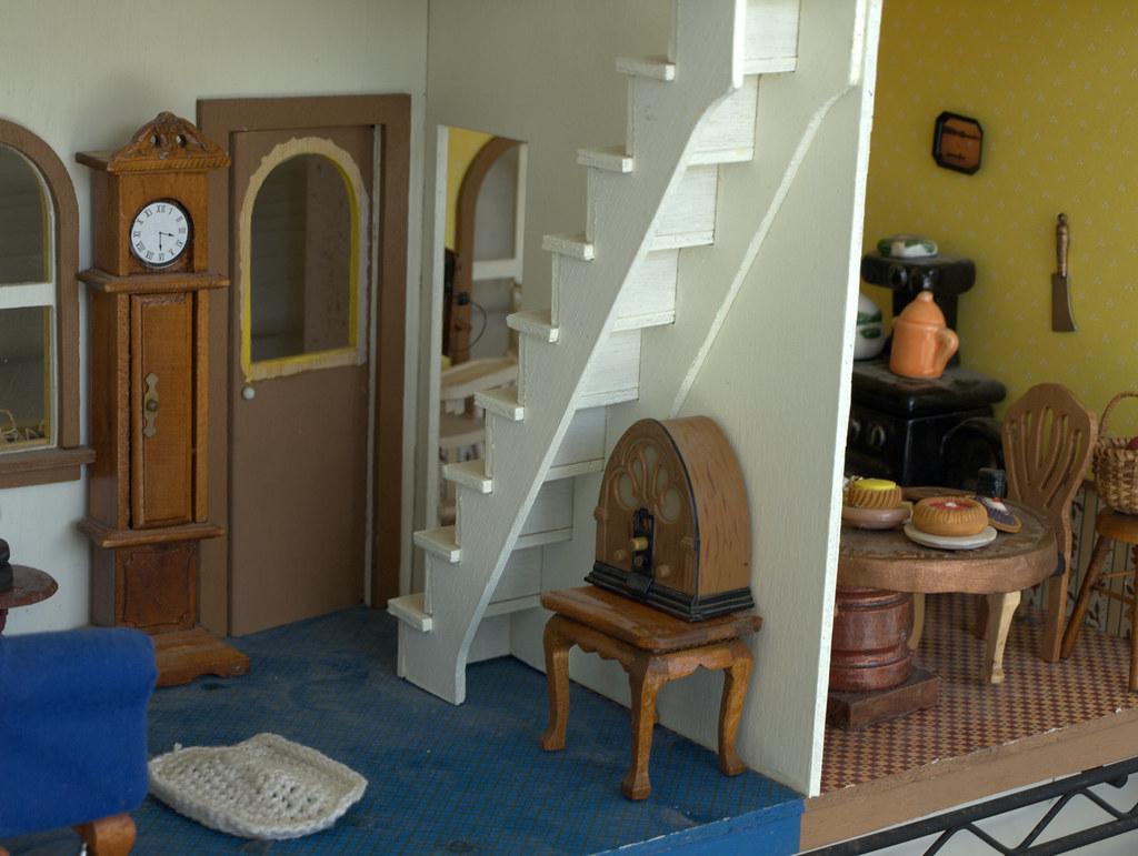 farm house living room entry
