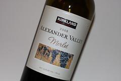 Kirkland 2008 Alexander Valley Merlot Wine
