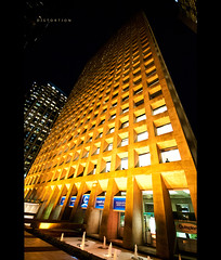 Distortion! (kineticfoto) Tags: distortion building architecture vancouver georgia downtown bc britishcolumbia thurlow coastcapital