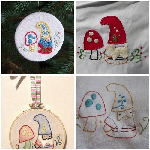 Doodle Stitch Along week 1!