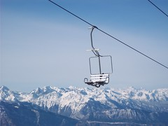 miste 001 (Marco Di Puccio) Tags: neve montagna solitudine seggiovia panarotta