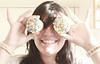 day sixteen: cupcakes eyes (Anitah) Tags: colors girl hair eyes hands cupcake softcolors anitah byanagóes