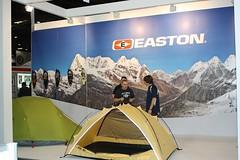 Easton Mountain Products (dominic langan) Tags: bell madison elite ridgeback genesis snowshoes contour easton giro excel commencal shimano saracen cervelo trekkingpoles londonbikeshow theoutdoorsshow dominiclangan