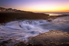 Rushing Water (Feo David) Tags: africa sunset water morroco morocco maroc rabat afrique rushing