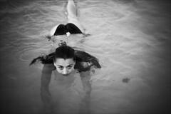 partial submersion in seawater (gorbot.) Tags: sea blackandwhite bw beach f14 palermo roberta mondello canoneos5d nikonfmount planar5014zf carlzeisszf50mmplanarf14 eosadaptor