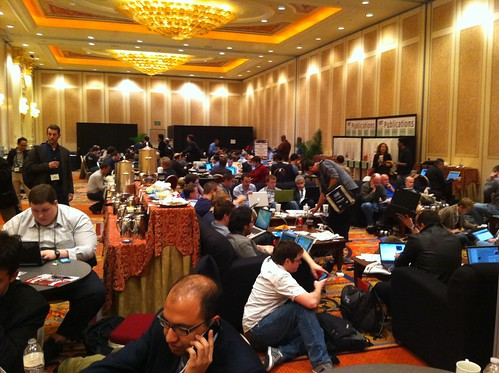 CES 2011 Venetian Press room