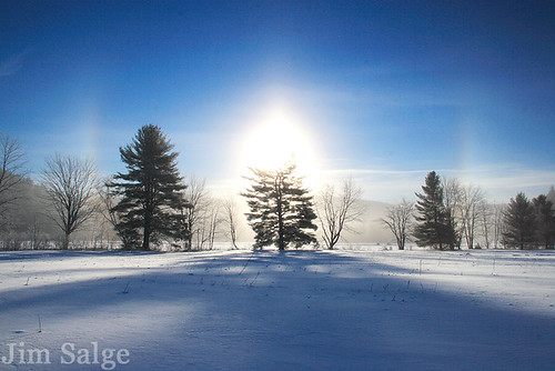 Sundogs in Eaton, NH