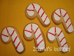 Sugar Cookies - Candy Cane