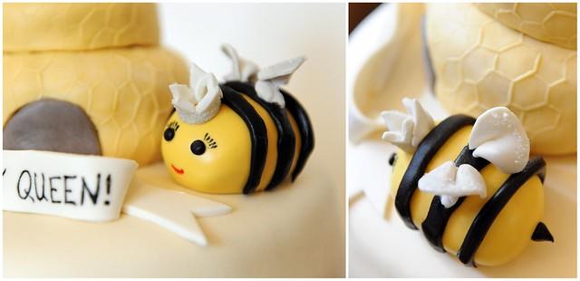 queen bee fondant