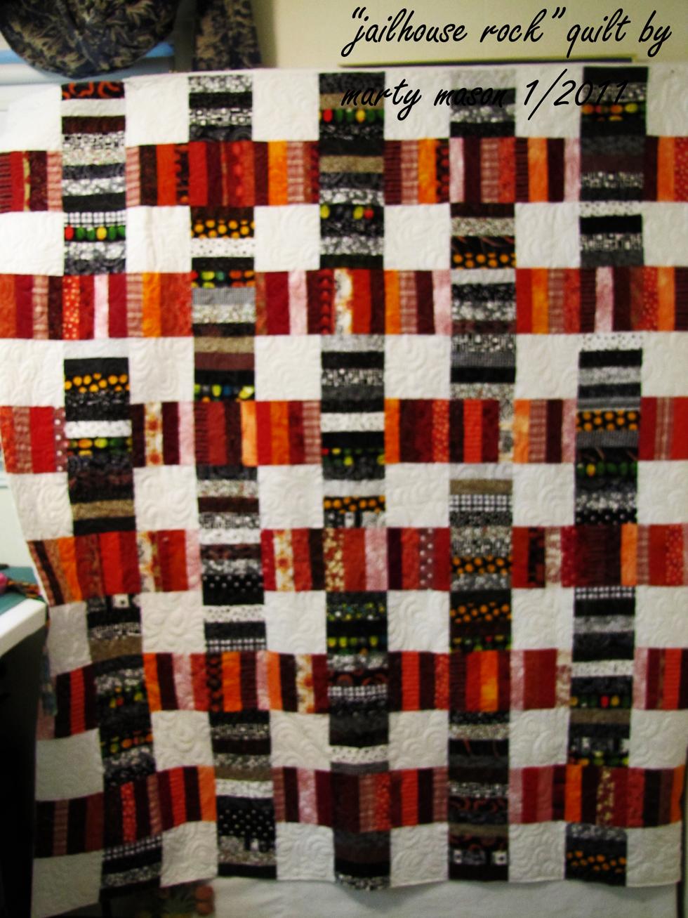 jailhouse rock quilt