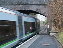 Alvechurch, Worcestershire (Tudor Barlow) Tags: winter england trains worcestershire railways electrictrains alvechurch tamron1750 londonmidland crosscityline alvechurchstation