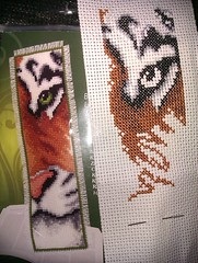 Day 1. Tiger bookmark 2
