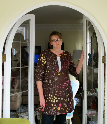 Schoolhouse tunic and french doors