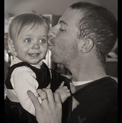 Beauty and the Beast (rsmith179) Tags: blue wedding baby cute sepia canon kyle blueeyes nik selective babyblue