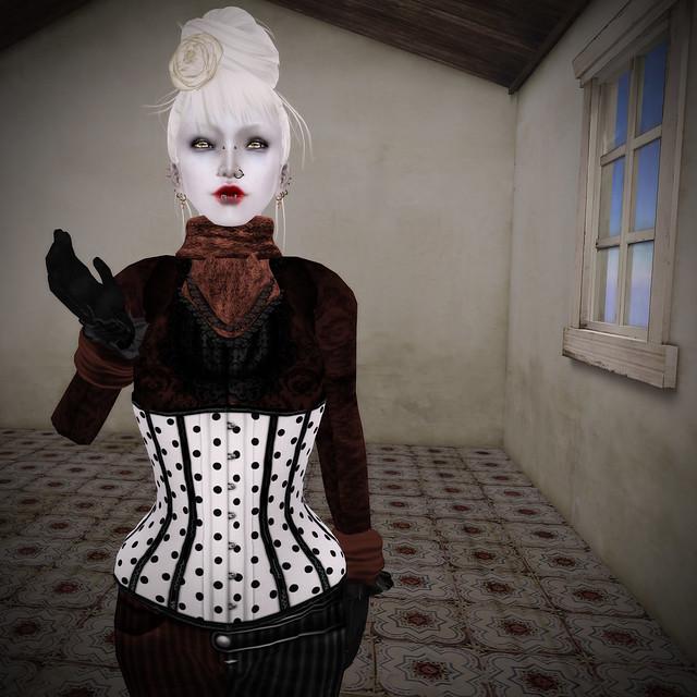 Schadenfreude corset