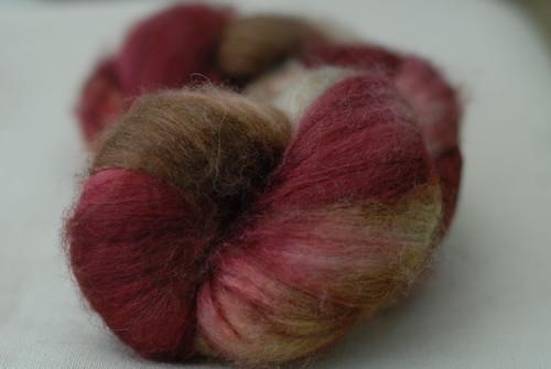Merino/Yak/Bombyx Silk