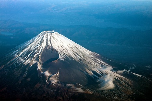 [フリー画像] 自然・風景, 山, 富士山, 日本, 201101260100
