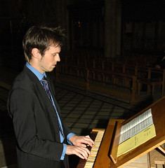 Richard McVeigh - Organ Scholar 2005-2007 (cathedralchoir) Tags: richy ripon organscholar