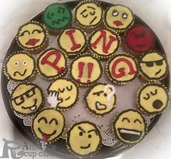 BB (Rahf's cake) Tags: cupcake كيك rahaf بلاك كب رهف بيري rahafs رهفز