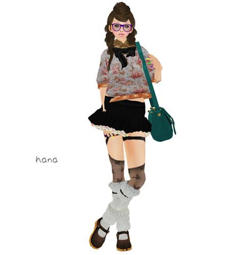 !::: cher!sh :::! *Frill mini skirt(LB)*