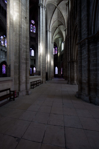 2011 Bourges Cathedral - The Ambulatory Aisle