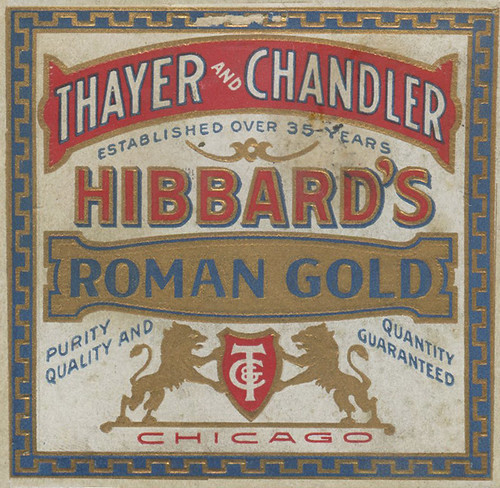 Hibbard's Roman Gold label by MMMPDX
