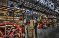 Swindon Steam Museum 11 (Darwinsgift) Tags: swindon steam museum greay western railway hdr photomatix nikkor 20mm f18 g nikon d810 waxworks