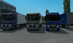 renault magnum ets2 (trucker on the road) Tags: euro truck simulator 2 scandinavia dlc east daf xf veicoli bring transport germany trailer pack skin flag holland truckers heavy bretagne express weeda arctic trucker