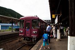 300 303 (nobu3withfoxy) Tags: gujohachiman  gifu   train  station   japan