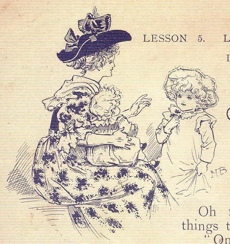 Little Darling's Lesson Book, 1890s - 6a