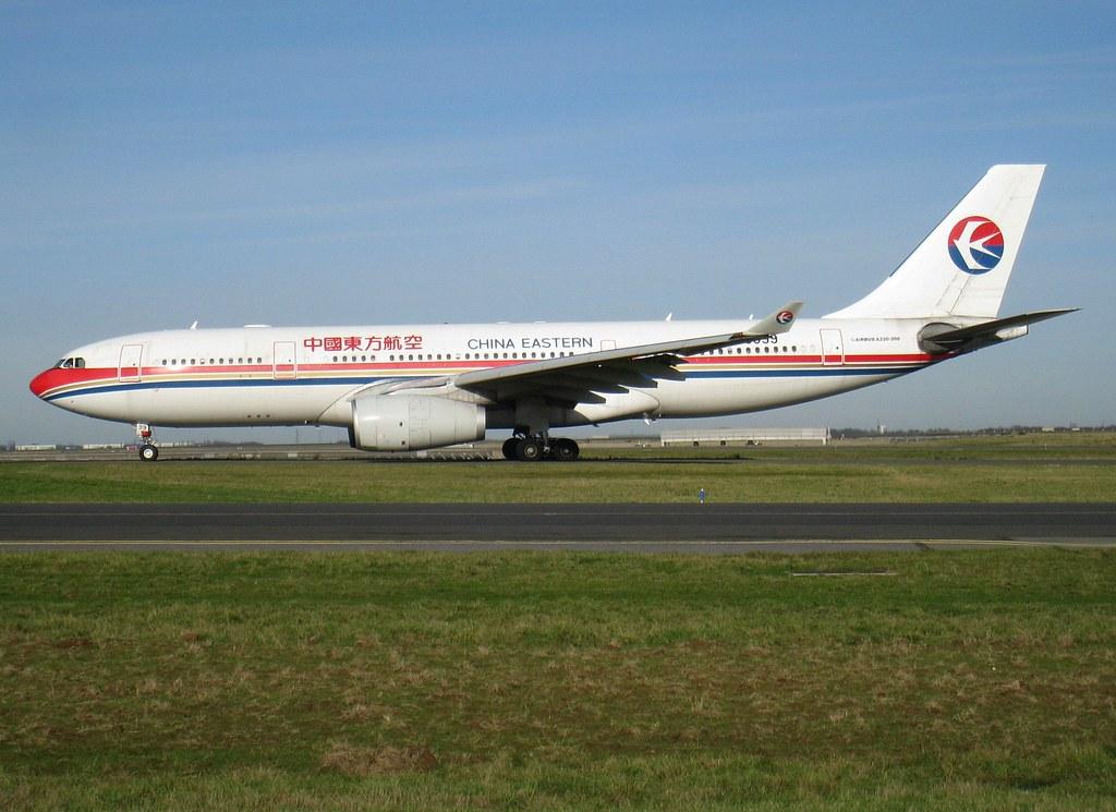 B-6099, Airbus A330-243, c/n 916, China Eastern, CDG/LFPG