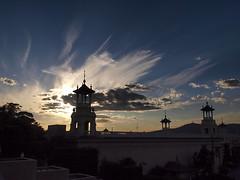 Barcelona evening (Hans & Liek) Tags: barcelona sky evening spain catalonia avond lucht montjuic spanje mnac museunacionaldartdecatalunya cataloni parcdemontjuic nationalartmuseumofcatalonia