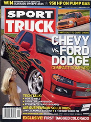 "2004 Chevy Colorado - Cover and Feature In Sport Truck Magazine • <a style=""font-size:0.8em;"" href=""http://www.flickr.com/photos/85572005@N00/5211950511/"" target=""_blank"">View on Flickr</a>"