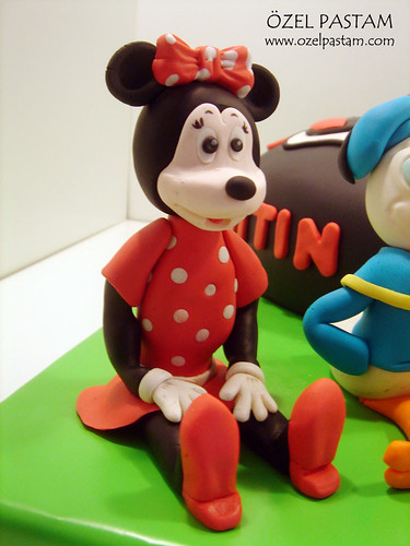 M. Kerem'in Mickey Mouse Pastası / Mickey Mouse Cake