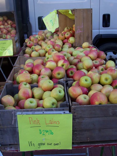 (High priced) Apples at the Silver Spring Farmers Market