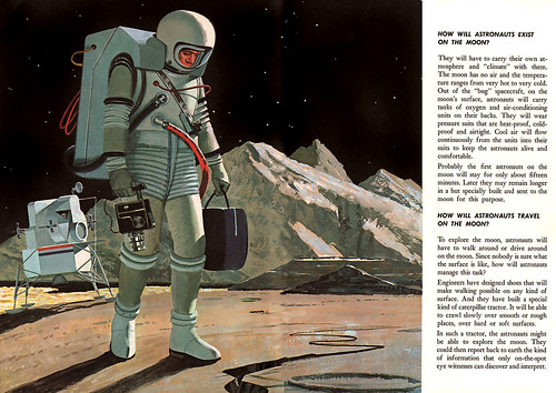 Astronaut Illustration Vintage (page 2) - Pics about space