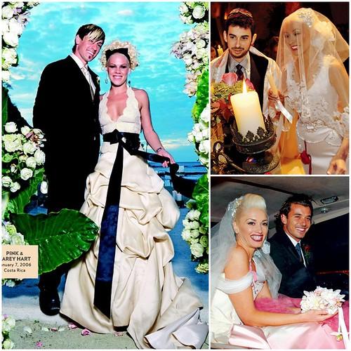 Celebrity Rocker Brides