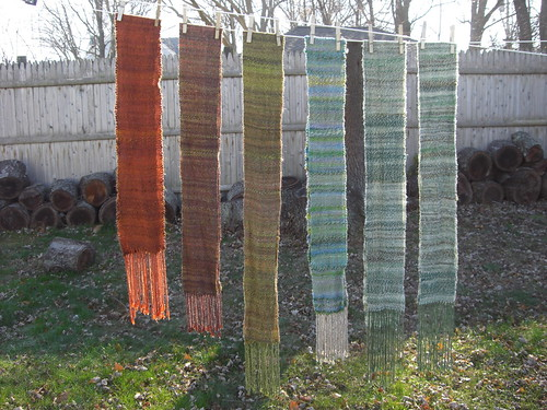 Scarves on the Line - Front