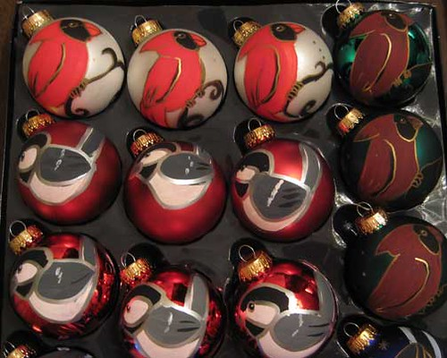 Handpainted Christmas Ornaments 6
