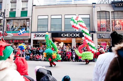 Milana's B-day - Santa Parade 405