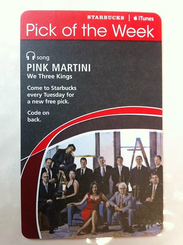 Starbucks iTunes Pick of the Week - Pink Martini - We Three Kings