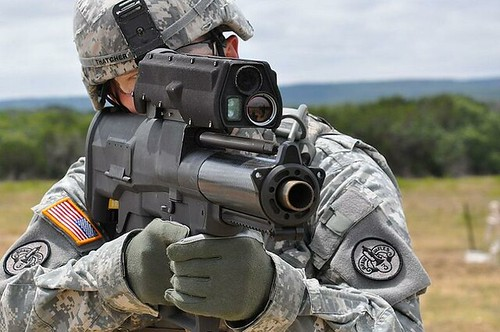 XM25 rifle