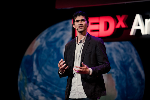 Marlon Parker at TEDx Amsterdam