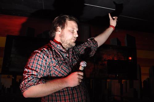 Punk rock karaoke at Babylon