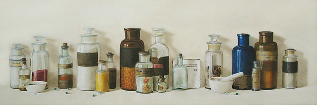 Apothecary Bottles Chase