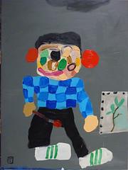 Matías Sánchez - Joven pintodo er becan Roma 2009