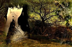La buscada soledad es ese eterno maquillaje que algunos usan para mentirse la incapacidad de no saber hallar una buena compañía... (conejo721*) Tags: argentina árboles palabras mardelplata poesía poema sentimientos rostrodemujer conejo721