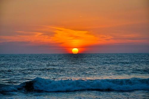 Ocaso en la playa (7)