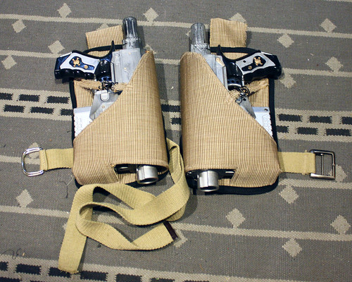 Holster for the Nerf N-strike Steampunk mod