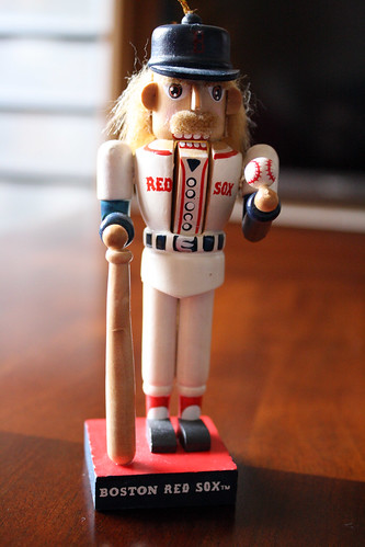 Red Sox nutcracker